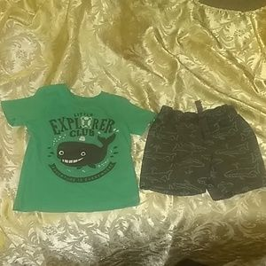 Jumping bean boys outfit